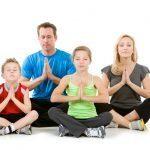 Family-meditating